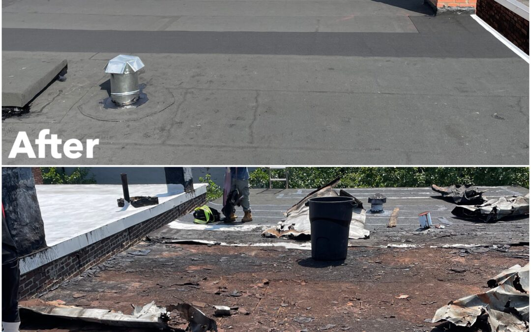 Flat Roof Replacement – Union City, NJ