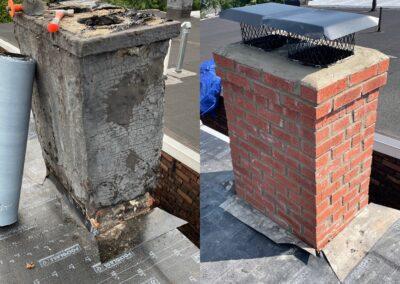 Chimney Rebuilt – Union City, NJ