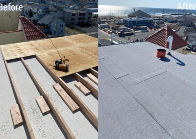 Flat Roof Replacement – Seaside Heights, NJ